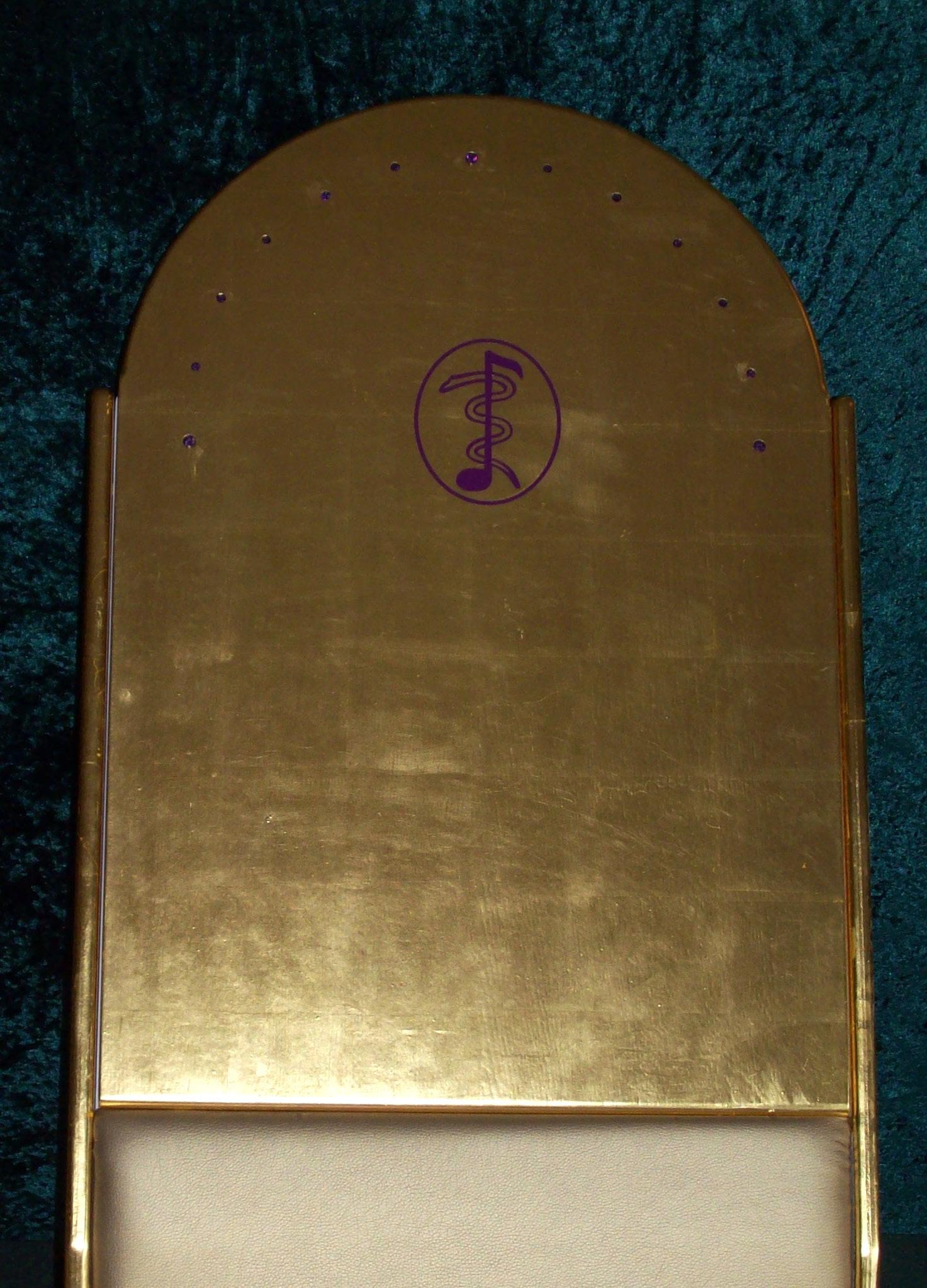 Rückenteil in Gold II