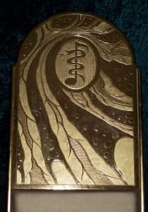 Rückenteil in Gold III