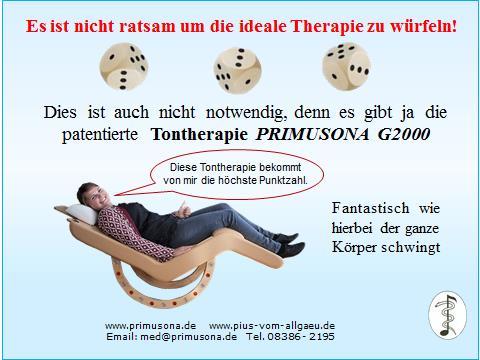 PRIMUSONA, die ideale Therapie